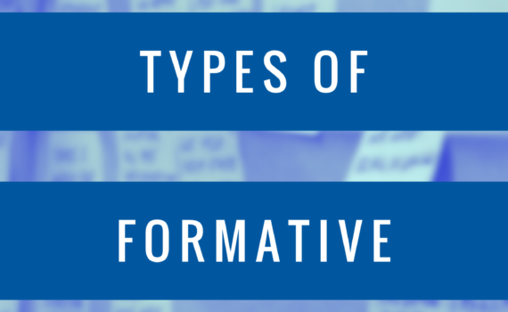The Four Types of Formative Assessment